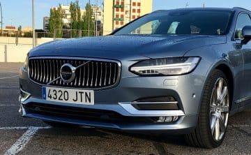 Volvo V90 egen bil i tjänsten