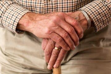 pensionär med pensionsförsäkring