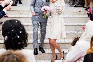 Bröllop med äktenskapsförod