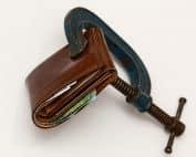 Konkurs Pengar Plånbok