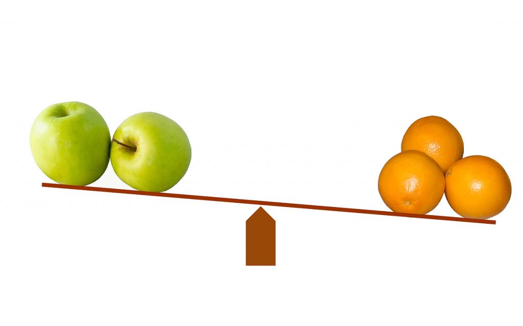 Jämför privatekonomi