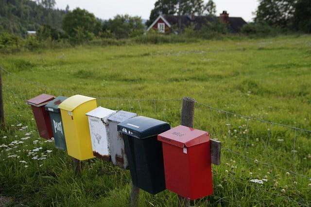 brevlåda checklista vid flytt