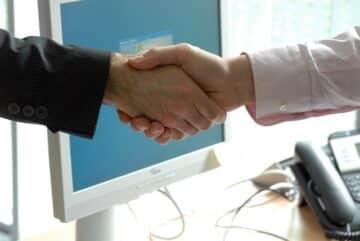 omstrukturering handslag