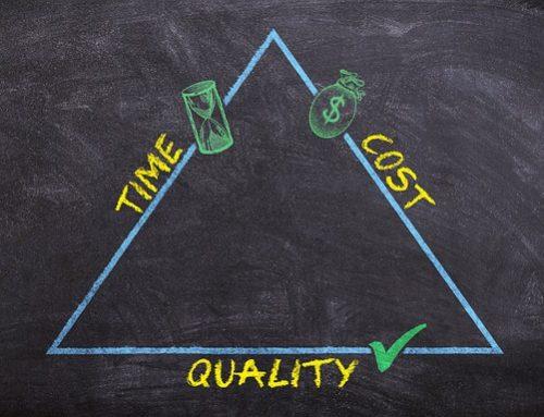 Projekttriangeln – Så visualiserar du prioriteringen i projektet