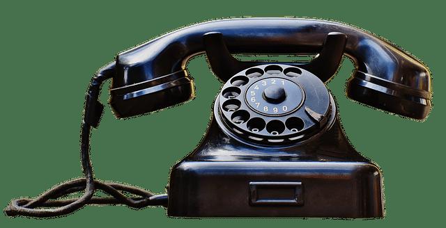 deklarera med telefon