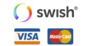 swish kreditkort visa mastercard